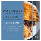 Waitrose steak pie - 550g