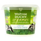Waitrose Duchy Organic Low Fat Cottage Cheese - 250g