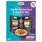Look what we found! Thai red curry & long grain rice - 450g
