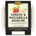 Dell' Ugo 6 tomato and mozzarella arancini - 150g