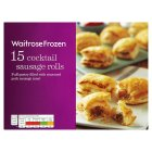 Waitrose Frozen 15 cocktail sausage rolls - 285g