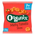 Organix finger foods tomato slices - 20g Brand Price Match - Checked Tesco.com 07/10/2015