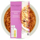 Waitrose Indian mushroom rice - 350g