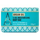Argan+ Argan 5-Oil Moisturising Bar - 125g