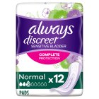 Always Discreet Normal - 12s