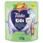 Tilda Kids sweet vegetable & wholegrain rice - 125g