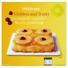 Waitrose pineapple upside down pudding - 450g