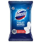 Domestos flushable toilet wipes - 40s