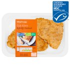 Waitrose MSC lightly dusted cod fillets - 260g