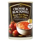 Crosse & Blackwell roast red pepper & tomato soup - 400g