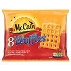 McCain 8 waffles - 454g Brand Price Match - Checked Tesco.com 17/09/2014