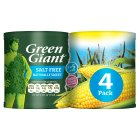 Green Giant no added salt sweetcorn