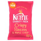 Kettle Chips crispy bacon & maple syrup - 150g