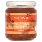 Waitrose stem ginger preserve - 340g