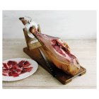 Waitrose free range, whole Iberico de Bellota jamon leg with stand & knife - each