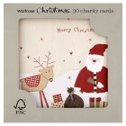 Waitrose Characters Christmas cards - 30s