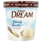 Almond Dream velvety vanilla non-dairy ice cream - 472ml Introductory Offer