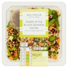 Waitrose Oriental Black quinoa salad - 180g Introductory Offer