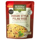 Seeds of Change Indian style pilau rice - 240g