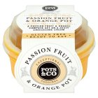 Pots & Co passionfruit & orange pot - 110g Brand Price Match - Checked Tesco.com 27/07/2016