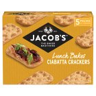 Jacobs Ciabatta Crackers - 140g