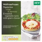 Waitrose Frozen 2 Roasted Vegetable Tarts with Cheese - 300g