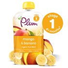 Plum puree mango & banana - 100g