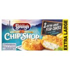 Young's chip shop 2 extra large fish cakes - 210g Brand Price Match - Checked Tesco.com 05/03/2014