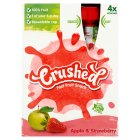 Crushed apple & strawberry fast fruit snack - 4x100g