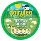 Dairylea springy onion cheese spread - 160g