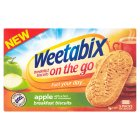 Weetabix on the go breakfast biscuits apple with cinnamon - 5x50g