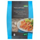 Waitrose Frozen headless shell on jumbo king prawns - 250g