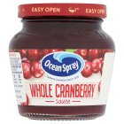 Ocean Spray wholeberry cranberry sauce - 250g