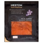Heston from Waitrose gin & juniper smoked salmon - 100g