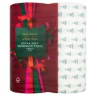 Waitrose Christmas Extra Soft Bathroom Tissues - 4s Special Purchase