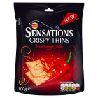 Walkers Sensations Crispy Thins Thai Sweet Chilli - 100g