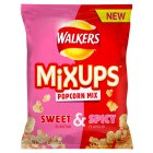 Walkers mixups popcorn mix sweet & spicy - 110g Brand Price Match - Checked Tesco.com 01/07/2015