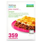 Waitrose LOVE Life you count  Lasagne - 380g