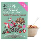 Dorset Cereals tasty toasted raspberry and apple - 650g