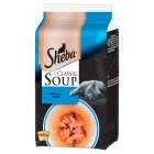 Sheba Classic Soup with Tuna Fillets - 4x40g