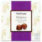 Waitrose Belgian Milk Chocolate Pralines - 135g