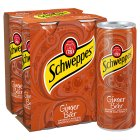 Schweppes ginger beer - 4x250ml