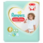 Pampers Active Fit Nappy Pants - 28s Size 6
