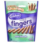 Cadbury mini fingers mint