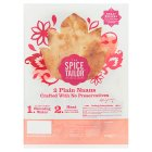 The Spice Tailor Plain Baked Naans - 2s