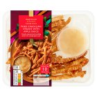 Waitrose Party pork crackling straws - 100g