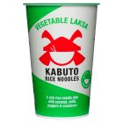 Kabuto Rice Noodles Vegetable Laksa - 65g