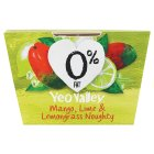 Yeo Valley 0% fat mango, lime & lemongrass yeogurt