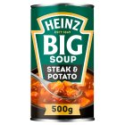 Heinz Big Soup Angus steak & potato - 500g Brand Price Match - Checked Tesco.com 23/07/2014