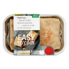 Waitrose Easy To Cook 2 sweet chilli salmon parcels - 200g